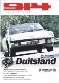Porsche 914 Club magazine, 52 pages, issue 2-2009, Dutch language