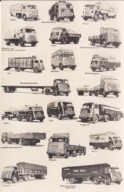 Program Trucks 1956, standard size, factory issue, 4 languages, date 11/55