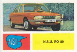NSU RO 80, 4 languages, # 132