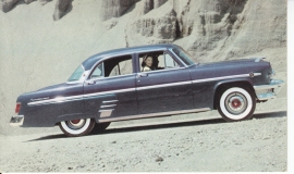 Monterey 4-Door Sedan, US postcard, standard size, 1954, # NM-5405