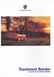 Boxster Tequipment brochure, 32 pages, 08/2000, German %
