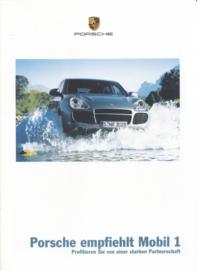 Mobil 1 oil - brochure, 12 pages, 06/2003, German language