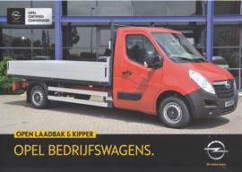 Movano pick-up kipper leaflet, 2 pages, DIN A4-size, 2015, Dutch language