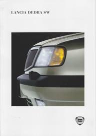 Dedra SW Station Wagon brochure, A4-size, 8 pages, 02/1996, Dutch language