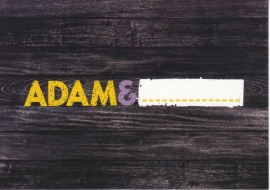 Adam postcard, Edgar freecard, # 16.855, German language