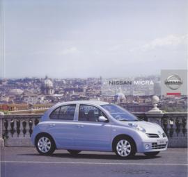 Micra brochure, 34 pages, 06/2005, Dutch language