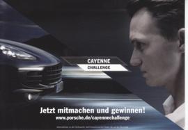 Cayenne Challenge, A6-size postcard, Edgar Freecard # 19.301, German, 2014