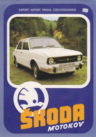 105/120 Sedan leaflet, 2 pages, 3 languages, about 1983