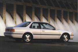 Accord EX Coupe, US postcard, continental size, 1993, # ZO313