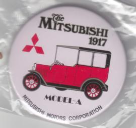 Mitsubishi Model A 1917 button