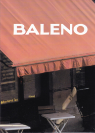 Program brochure and Baleno poster, 16 pages, 1995, Dutch language