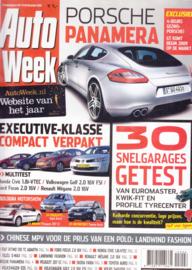 Auto Week, 72 pages, 13-20 Dec. 2006, Dutch language