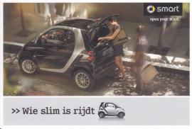 Fortwo postcard, 16x11 cm, fold-card, 0409/1114, Dutch language