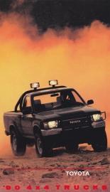 4x4 Pick-up Trucks, US postcard, 1990