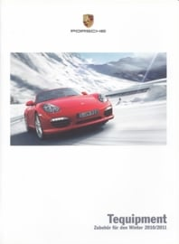 Tequipment Winter brochure, 20 pages, 08/2010, German language