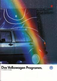 Program brochure, 24 pages,  A4-size, German language, 07/1986