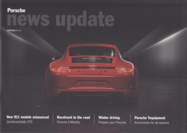 News Update UK with 911 GTS, 20 pages,  # 4-2014, English language