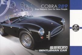 Cobra 289 Street Version postcard,  English language, Belgian issue, about 2014