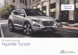 Tucson brochure, 6 pages, 07/2015, Dutch language