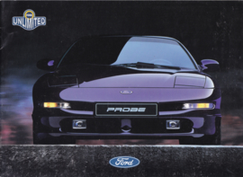 Probe Sportcoupé brochure, 16 pages, A4-size, 12/1996, German language