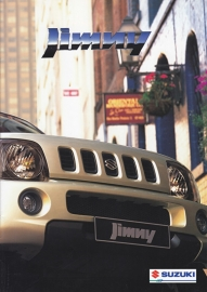 Jimny brochure, 20 pages, #51098, 1999, Dutch language