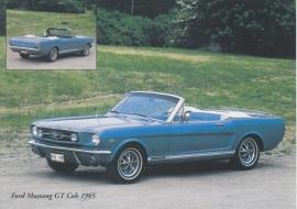Mustang GT Cabriolet 1965 - nr. 23860