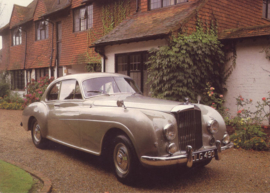R Type Continental, DIN A6-size postcard, 1985, English language