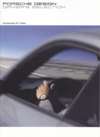 Selection 911 Turbo brochure, 10 pages, 04/2006, German language
