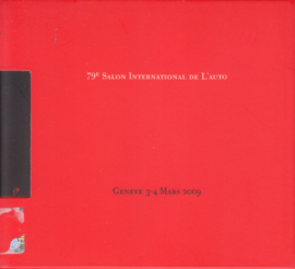 Press Package Geneva 2009, pictures on CD-Rom, comes in protective cover