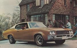 Skylark Sport Coupe, US postcard, standard size, 1971, # 9