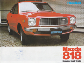 818 brochure, 12 pages, 04/1977, German language