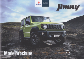 Jimny  brochure, 28 pages, #50119, 1/2019, Dutch language