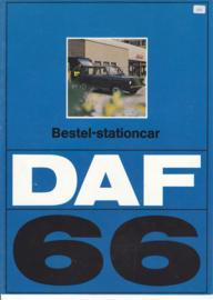 66 Stationcar-Van variomatic brochure, 4 pages, 09/73, Dutch language