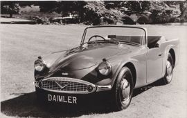Daimler V8 250 Convertible, De Muinck & Co., date 763, unnumbered