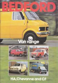 Van range brochure UK, 24 pages, 10/1978, English language
