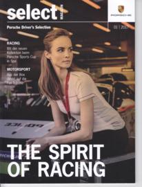 Select magazine # 1 - Spring 2017, 52 pages, 02/2017, German language