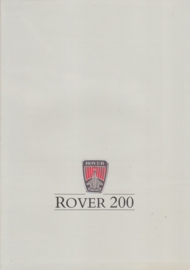 200 Series brochure, 8 pages, A4-size, 1987, Dutch language, # EO 348