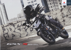 Suzuki GSX-S 125 ABS brochure, 8 pages, #99994-GS125-BRO, 2016, Dutch language