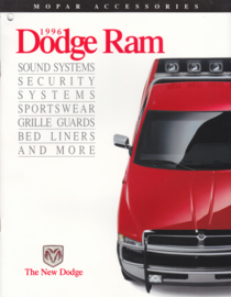 Ram accessories brochure, 10 pages, 1996, English language, USA