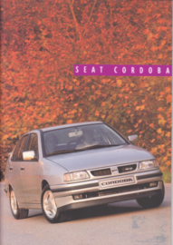 Cordoba brochure, 36 pages, about 1995, A4-size, Dutch language
