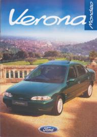 Mondeo Verona brochure, 8 pages, 5/1996, English language, UK