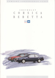 Corsica & Beretta 1994, 16 page folder, Dutch language