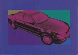 Legend Sedan, Swiss postcard, DIN A6, about 1992