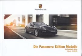 Panamera Edition Models pricelist, 112 pages, 03/2015, German