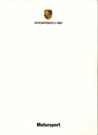 Motorsport, A6-size set with 10 postcards in white cover, 2006, WVK 817 200 06