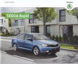 Rapid Sedan brochure, 32 pages, Dutch language, 01/2013