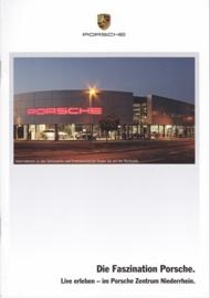 Faszination Porsche brochure, 20 pages, 2015, PC Niederrhein, German