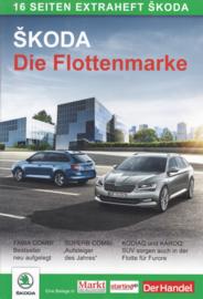 Program (magazine insert) brochure, 16 pages, German language, 2018