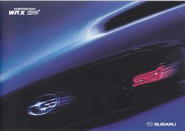 Impreza WRX STI brochure, 24 pages + colors/specs., Dutch language, 10/2004