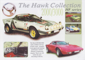 Hawk 2000/3000 HF series replica leaflet, 2 pages, about 1999, English language